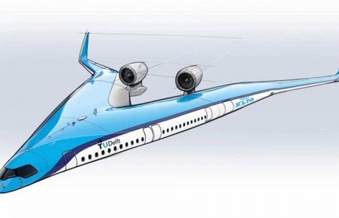 """طائرة تحمل ركابها في """"الجناحَين""""؟"""