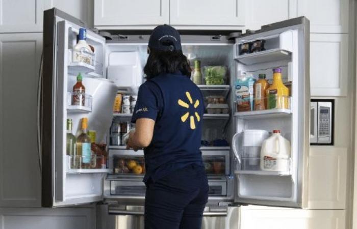 وولمارت ستطلق خدمة InHome Delivery لإيصال البِقالة لداخل الثلاجة !