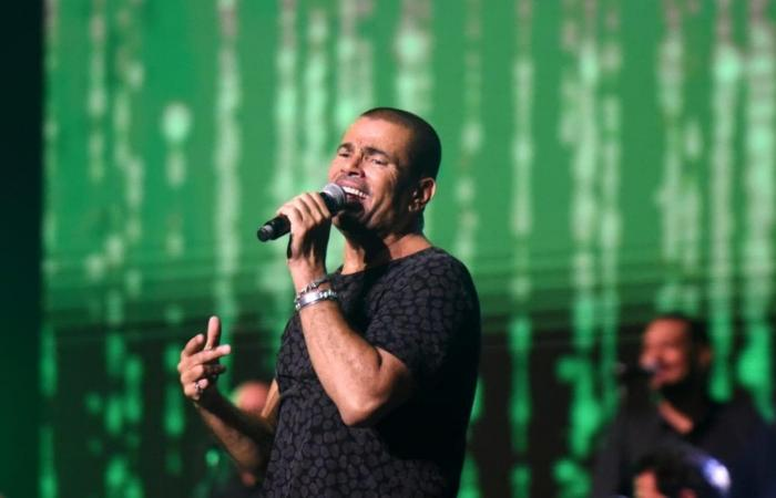 عمرو دياب في حفله للجمهور السعودي: وحشتوني