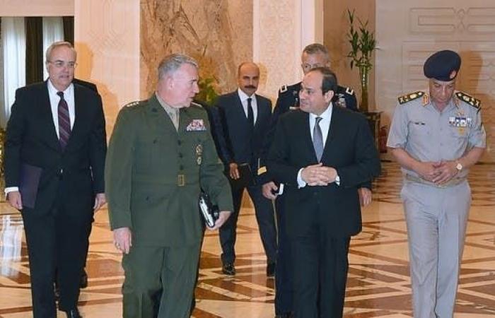 مصر | السيسي: التعاون مع أميركا مهم لمواجهة التهديدات