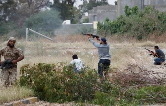 طيران الجيش الوطني الليبي يستهدف مواقع عسكرية في بطرابلس