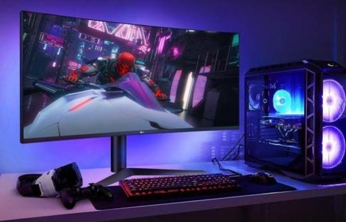 إل جي تكشف عن أسرع شاشة ألعاب في العالم