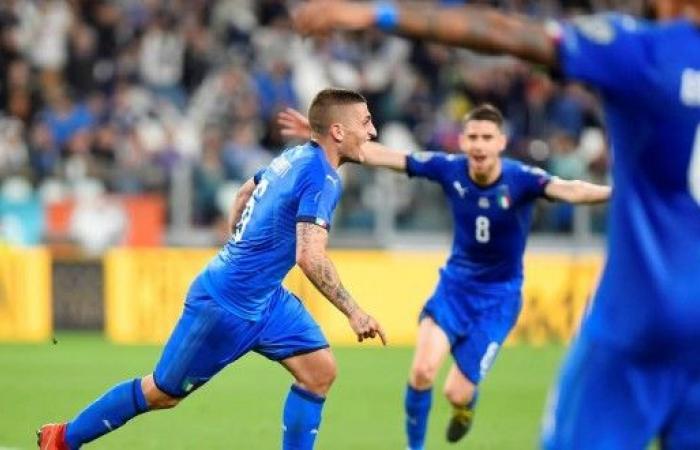 إيطاليا تتمسك بصدارة مجموعتها في تصفيات كأس أمم أوروبا