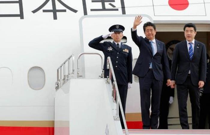 إيران   رئيس الوزراء الياباني إلى إيران لتخفيف التوتر بالمنطقة
