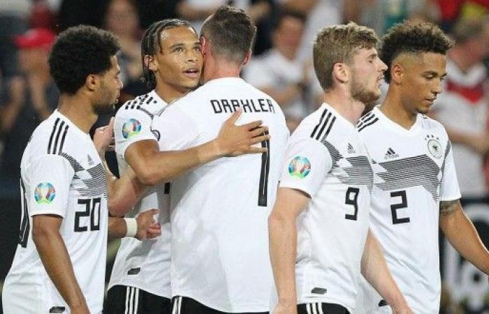 تصفيات يورو 2020: ثمانية أهداف لألمانيا في مرمى إستونيا
