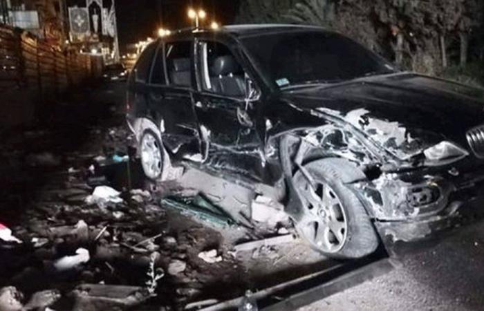 جرحى في حادث سير على طريق عام الشبريحا صور