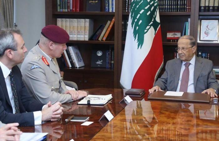 عون التقى كبير مستشاري وزارة الدفاع البريطانية للشرق الأوسط