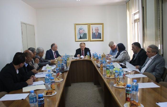 فلسطين | مجلس ادارة المواصفات والمقاييس يتخذ عدداً من القرارات