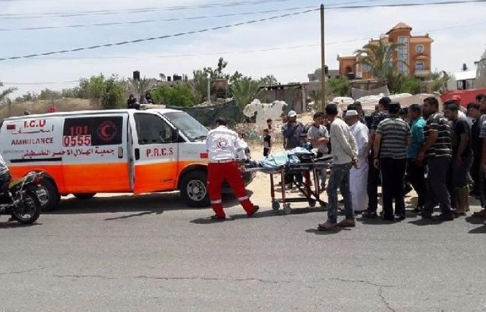 فلسطين | إصابة طفل إثر صدمه من قبل مركبة بغزة