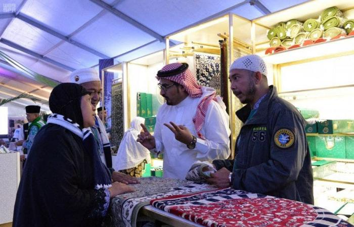 الخليح   الطيران المدني السعودي يُعرّف الحجاج بتراث السعودية