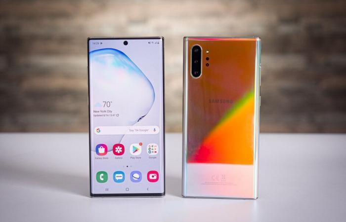 سامسونج تدفع بالتحديث الأول لبرمجيات هواتف Galaxy Note 10