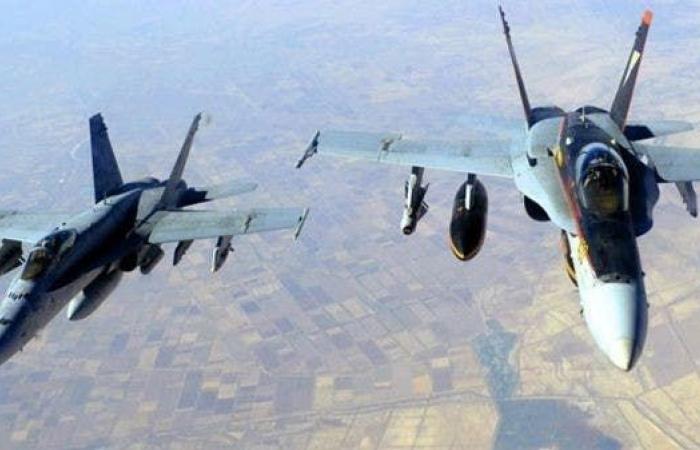اليمن | شاهد.. مقاتلات التحالف تدمر غرفة عمليات حوثية في صعدة