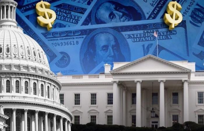 توقعات بوصول عجز الميزانية الأميركية إلى تريليون دولار
