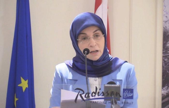 عز الدين سفيرة معتمدة في لبنان لمنظمة القيادات السياسية