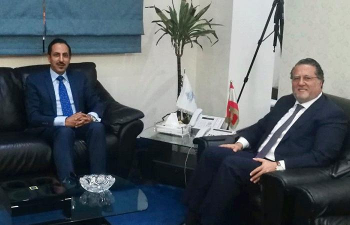 شقير: لبنان مهتم بتنمية العلاقات الاقتصادية مع غانا