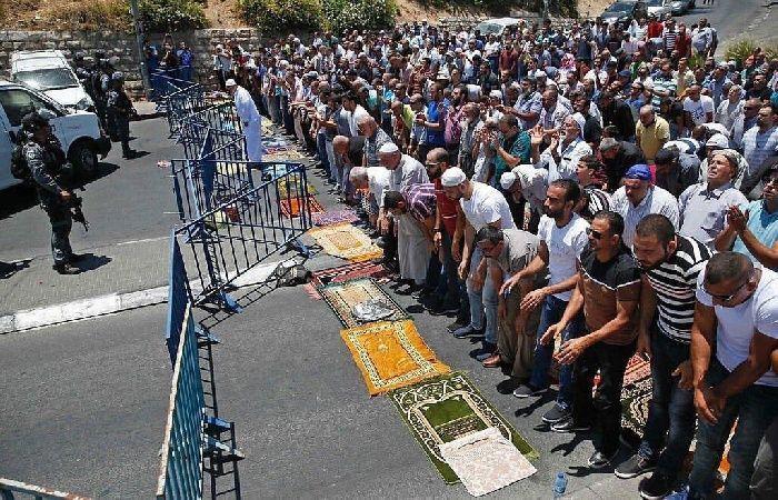 فلسطين | الدعوة لصلاة الجمعة في العيسوية رفضا لاستمرار حملة الاعتداءات فيها