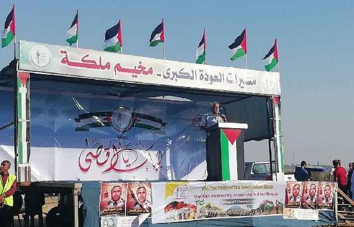 فلسطين   ناصر: ندعو لتوحيد المرجعيات الوطنية في القدس وتسليحها ماليا