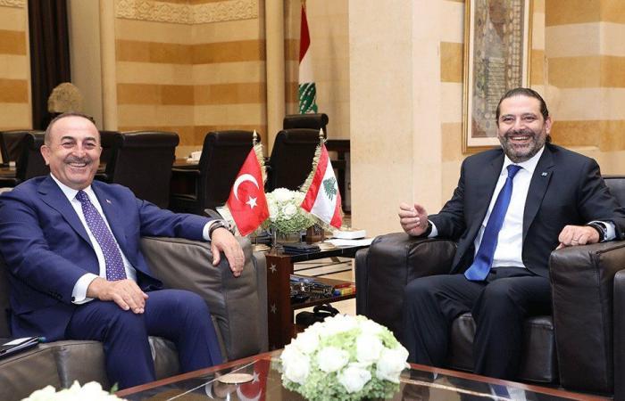 أوغلو زار الحريري: ندعم لبنان ومؤسساته الدستورية