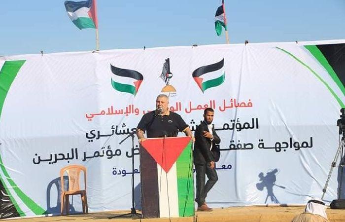 فلسطين   البطش: العدو لم يكن يجرؤ على القدس لولا تهافت العرب على التطبيع
