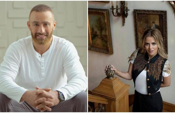 أحمد السقا إلى جانب زوجته مها الصغير في مهرجان الجونة.. ما حقيقة انفصالهما؟!