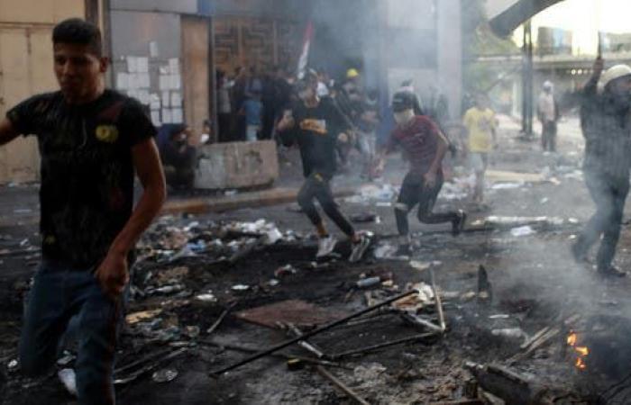 العراق   بغداد.. انتشار أمني كثيف في محيط الساحات وقرب الجسور