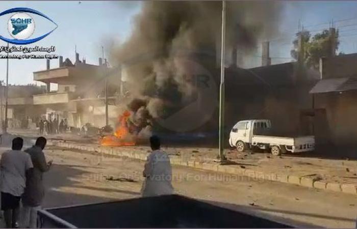 سوريا | سوريا.. انفجار سيارة مفخخة في بلدة سلوك شمال الرقة