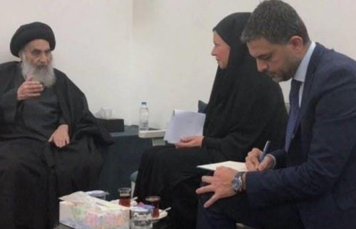 العراق   بعثة أممية من النجف: المرجعية تشكك بجدية القوى السياسية