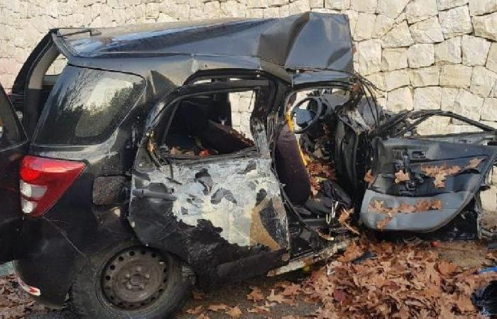 قتيلان في حادث سير على طريق عام غادير درعون