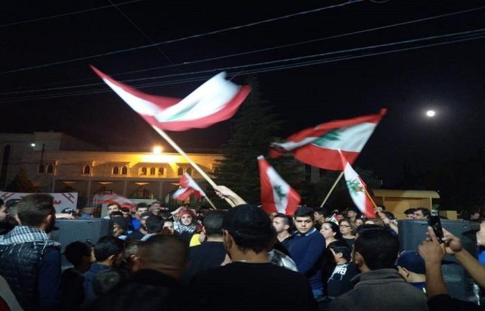 تجمع للحراك الشعبي في الهرمل