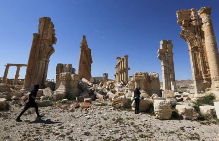 سوريا   آثار سوريا المنهوبة للواجهة.. وفصائل تركيا تتدرب بمعبد