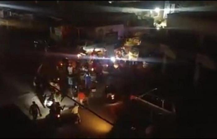 مسيرة في القبة طرابلس وقرع طبول وطناجر