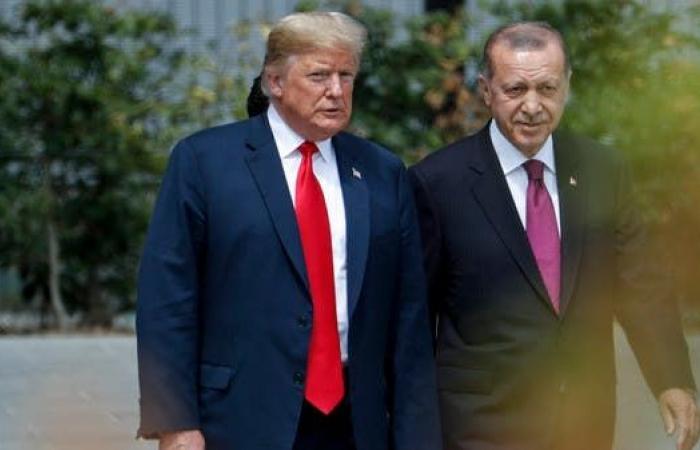 سوريا | ترمب خلال لقائه أردوغان: وقف إطلاق النار في سوريا صامد
