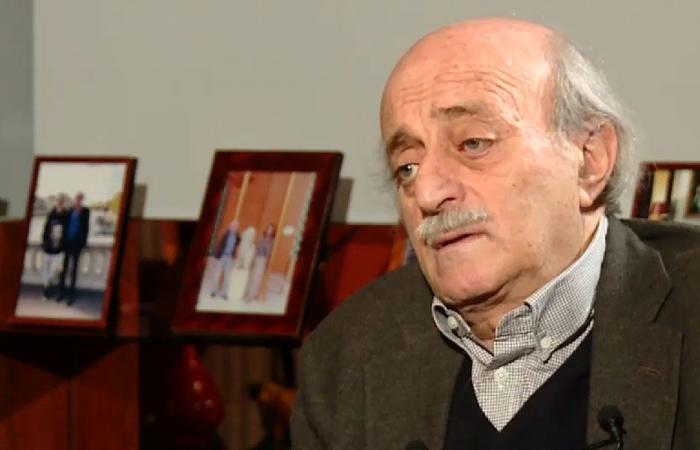 جنبلاط تلقى رسائل تعزية بوفاة علاء أبو فخر