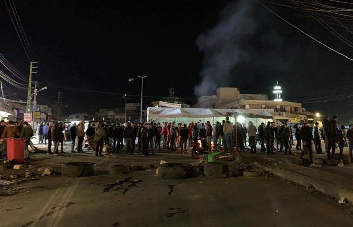 طرق مقفلة في راشيا والبقاع الغربي