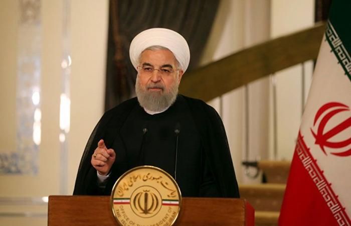 روحاني: هناك من يريد استبدال التظاهر في لبنان إلى حرب أهلية