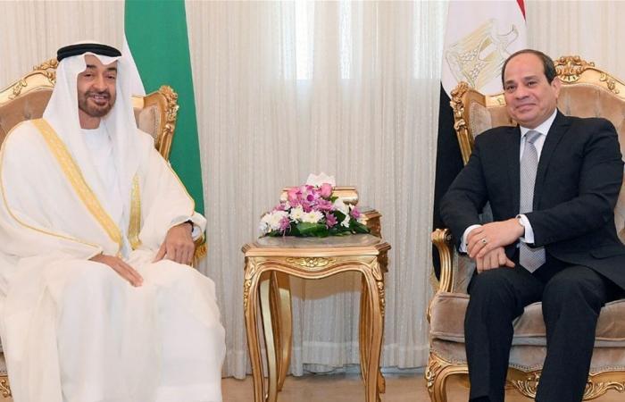 الإمارات ومصر تطلقان برنامج استثمارات مشتركا بـ20 مليار دولار