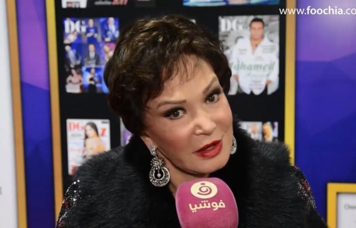 لبلبة: هيثم أحمد زكي شبهني لوالدته.. وعن زواجها: أعوذ بالله!