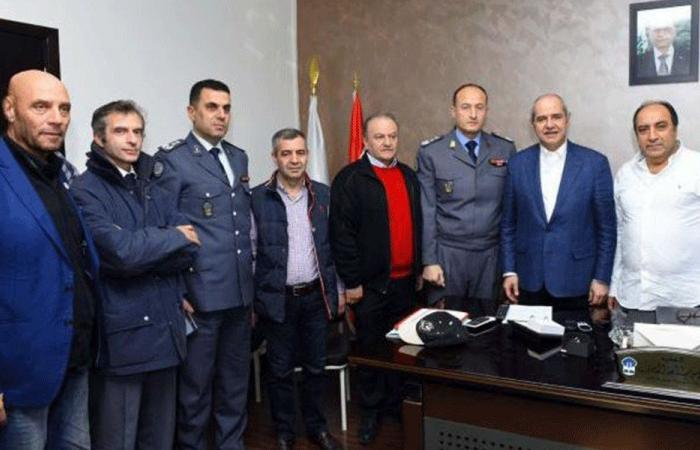 قوى الأمن:زيارة خاصة لنقابتي المحامين إلى السجون (صور)