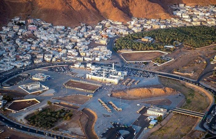 الخليج   تعرف على موقع يقصده زوار المدينة المنورة