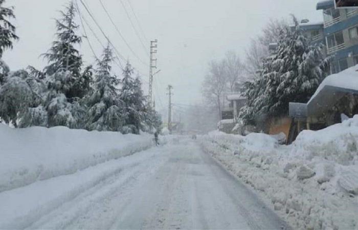 إليكم الطرقات المقطوعة بسبب تراكم الثلوج!