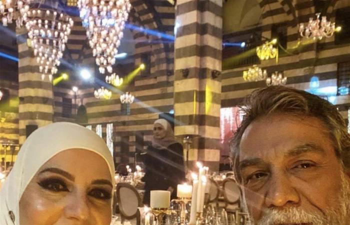 تعرّفوا إلى زوجة النجم السوري أيمن رضا!