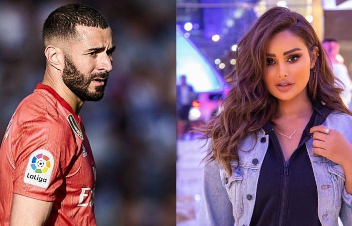 الكويتية عهود العنزي في عيد ميلاد اللاعب كريم بنزيما (فيديو)