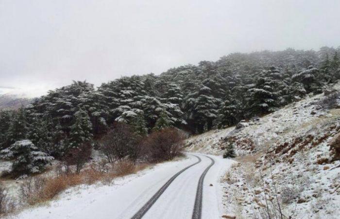 طرقات مقطوعة بالثلوج
