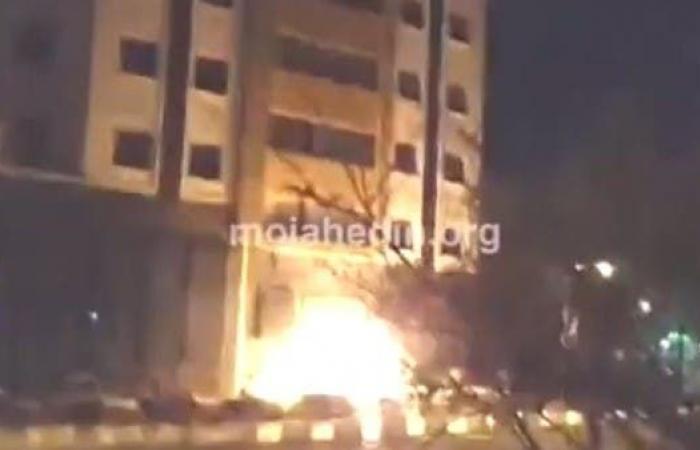إيران   هجوم لمجاهدي خلق على مقر للحرس الثوري في طهران