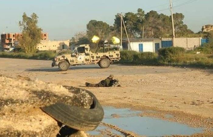 تجدد الاشتباكات بين الجيش الليبي وقوات الوفاق قرب طرابلس