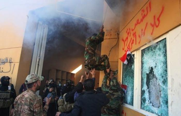 العراق | إيران تنفي علاقة مواليها بهجوم السفارة.. وصورتفضح