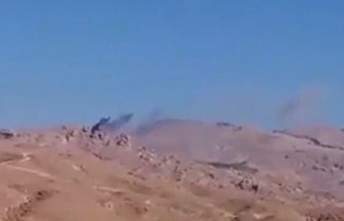 اليمن | فيديو.. طيران التحالف يستهدف تجمعات الحوثيين في الجوف