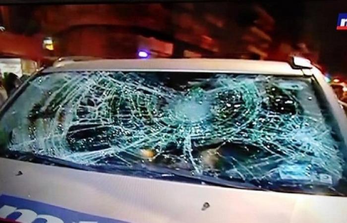 الاعتداء على فريق الـmtv وتكسير سيارته في البقاع! (فيديو)