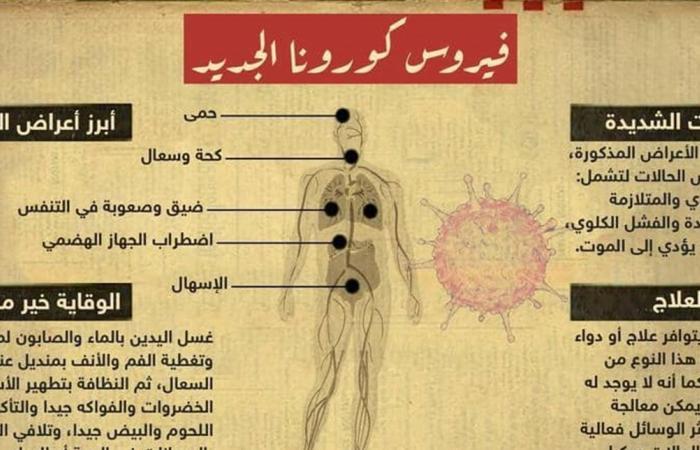 كيف يهاجم فيروس كورونا جسم الإنسان؟