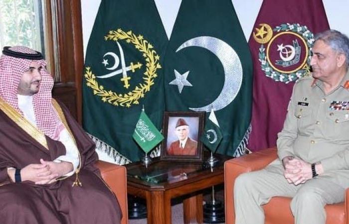 السعودية   نائب وزير الدفاع السعودي يلتقي قائد الجيش الباكستاني